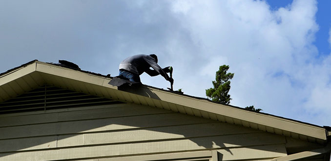 woodlands roof repair service