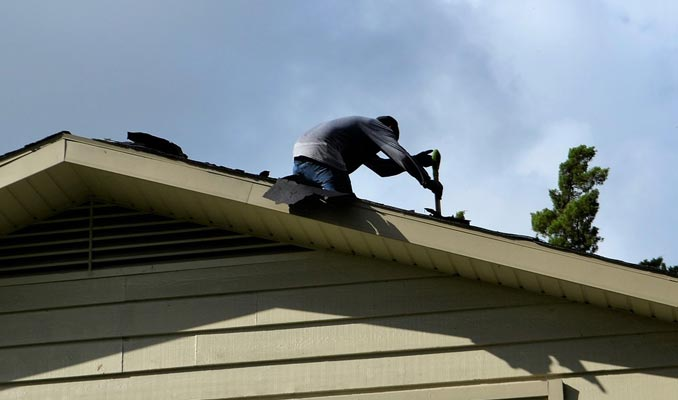 Roof repair Conroe TX